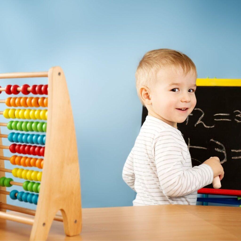 Kada dete uči brojeve i brojanje