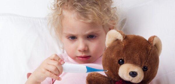 Šta kada je temperatura deteta povišena?