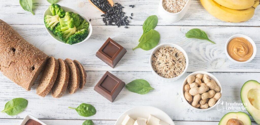 Jelovnik i recepti hrane bogate magnezijumom i gvožđem - Za trudnice i mame