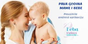 App - Prva godina mame i bebe